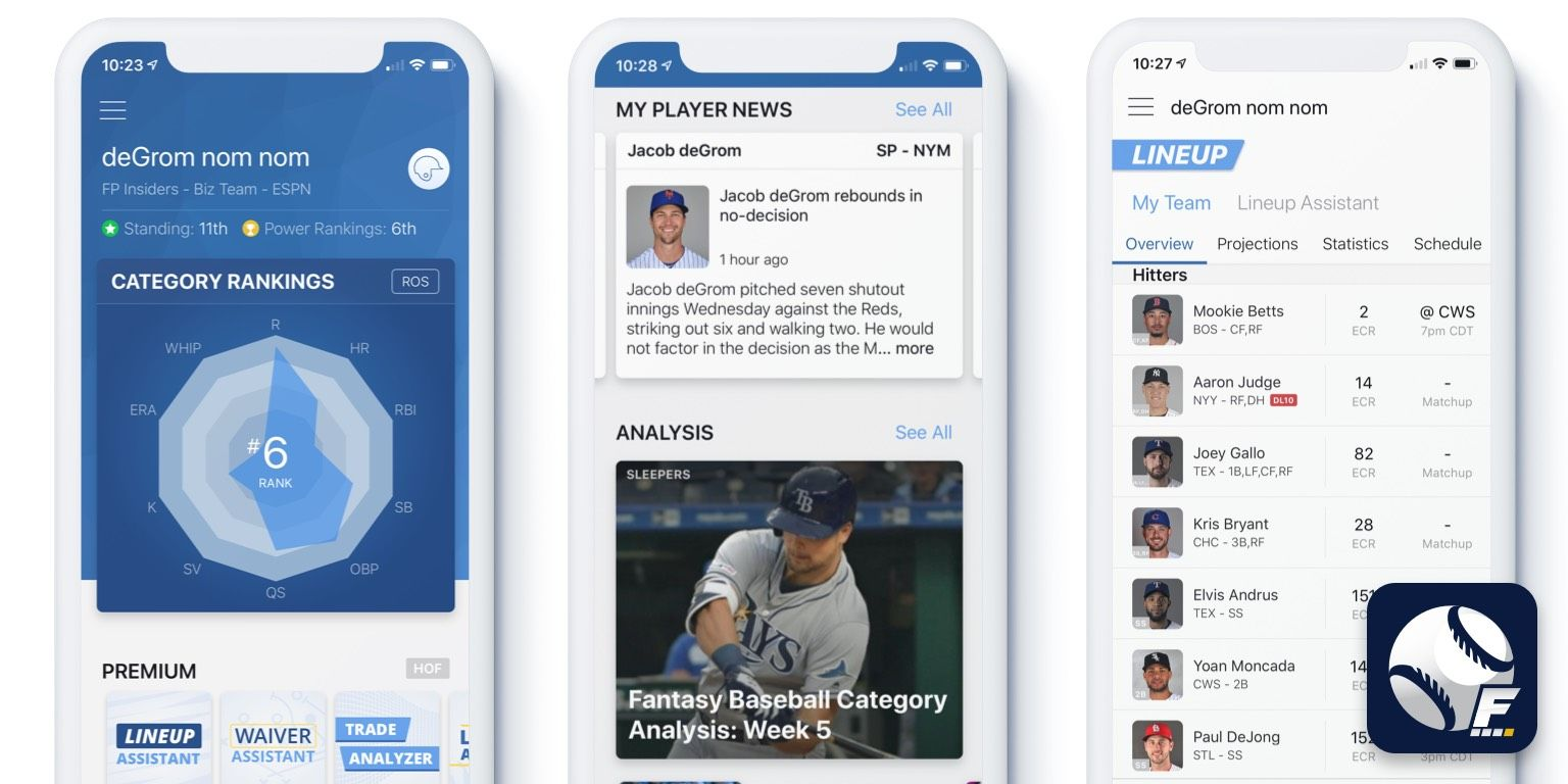 [5/3/2019] My Playbook MLB iOS  Updates: Major Design Refresh