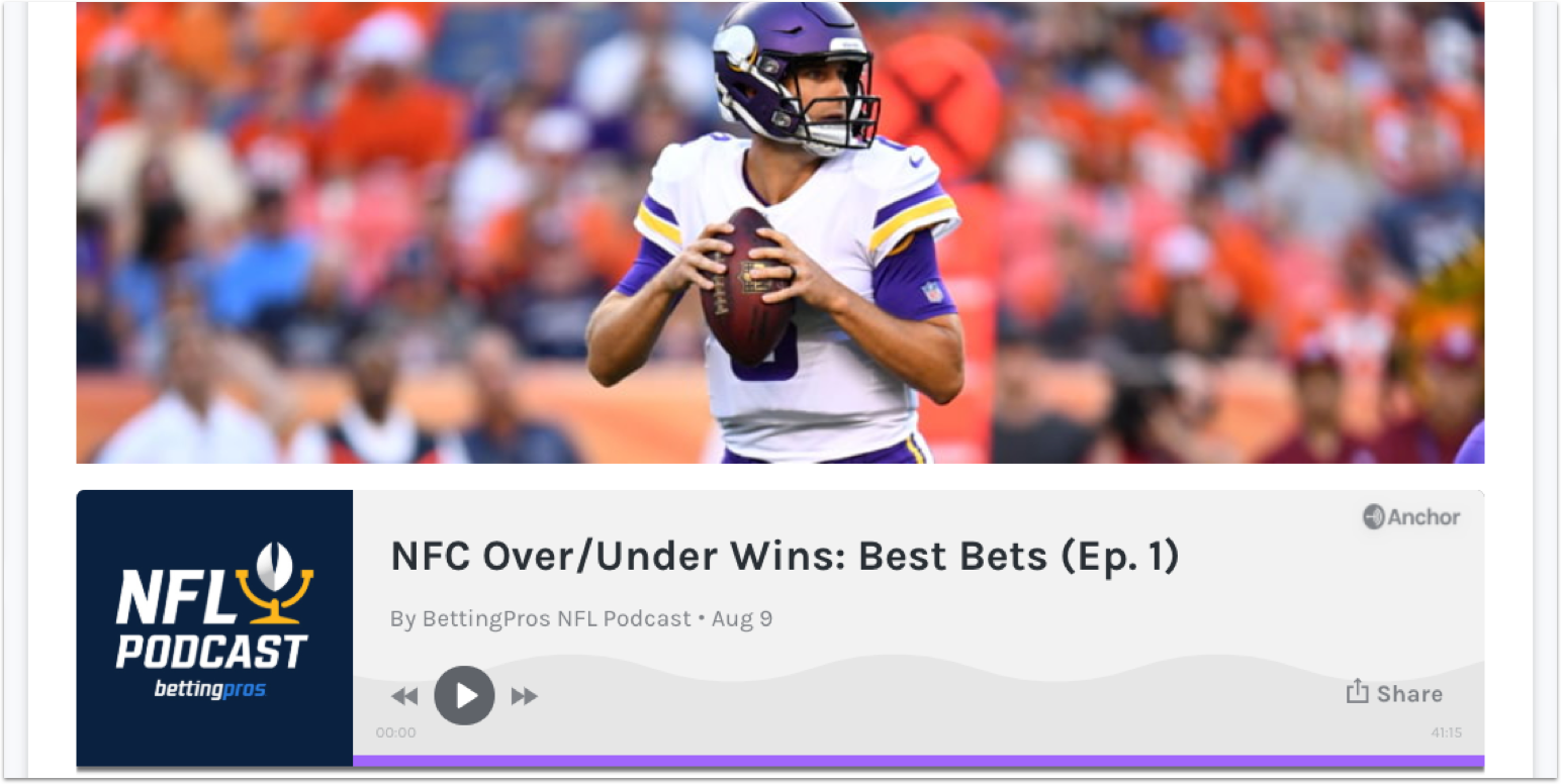 [8/9/2019] BettingPros Podcast is Live!