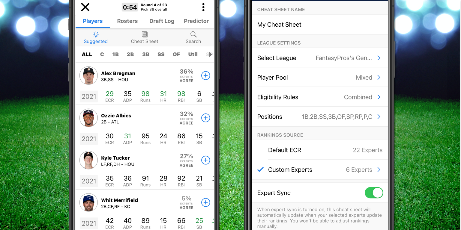 [2/24/2021] Fantasy Baseball Draft Wizard: Expert Advice For All Your Drafts in One App